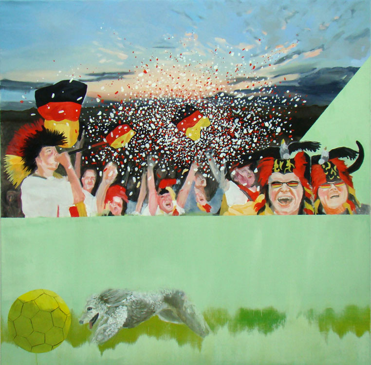 Supporters 2 - 2013 - 120 x 120 cm