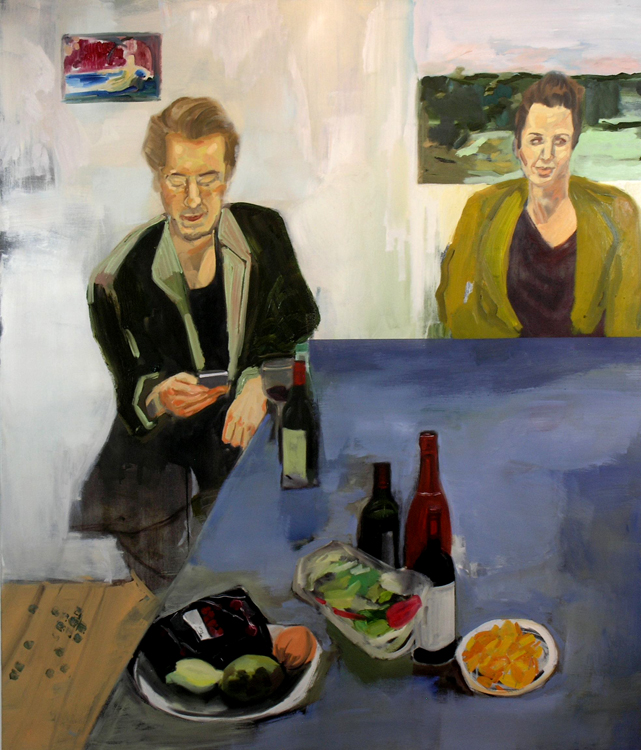 A table- 2013- 120 x 140 cm